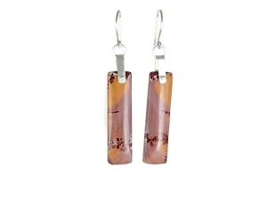 Sonora Dendritic Rhyolite earrings